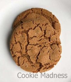 These Canola Oil Ginger Cookies are big, flat, chewy ginger cookies made with canola oil instead of butter or shortening. Ginger Molasses Cookies, Cinnamon Cookies, Cocoa Cinnamon, Ginger Snap Cookies, Baking Cookies, Bar Cookies, Cookie Recipe With Oil, Cookie Recipes, Baking Recipes