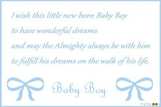 Baby Boy Congratulation Messages With Adorable Images Babys