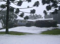 Neve em Gramado , agosto de 2013