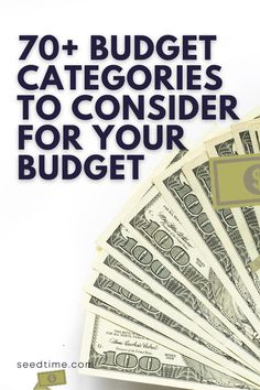 In order to have an effective budget, you're going to need some basic personal budget categories to start. Determining the budget category to use isn't always easy, especially if you've never made a budget before. Start your budget off right . . . here are some of the best budgeting categories to set you off on the right foot. #budget #budgetcategories #budetingtips #howtobudget #creatingabudget #seedtime Living On A Budget, Frugal Living Tips, Budgeting Worksheets, Budgeting Money, Financial Tips, Financial Planning, College School Supplies, Hills And Valleys, Budget Spreadsheet