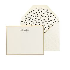 Sugar Paper® letterpress thanks note set : paper goods | J.Crew