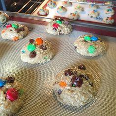 Oatmeal M&M for the win! #winningcombo #cookiedonyc #cookiedough #nyc #beforetheoven #cookies #treats