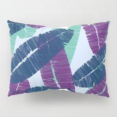 Carved Palms #society6 #decor #buyart Pillow Sham