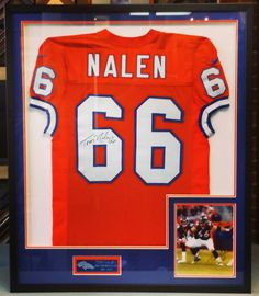 The holidays are right around the corner, folks! A custom framed jersey, like this game-worn jersey signed by Tom Nalen, would make a great gift for the sports fan in your life. But don't wait, jerseys take time to frame so get your's in today! Custom framed by FastFrame of LoDo. #framing #denver #colorado #pictureframing #customframing #jerseyframing #sportsframing #broncos