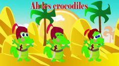 Ah les crocodiles + 5 Comptines Animées
