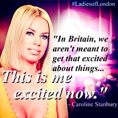 Caroline Stanbury's | Ladies of London