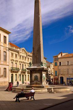 Place de la Republique, Arles, Provence France