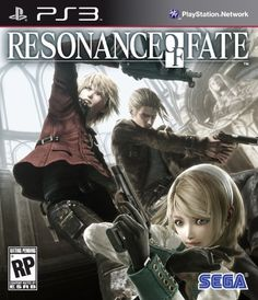 Resonance of Fate (Bilingual game-play) - PlayStation 3 Standard Edition Resonance Of Fate, Playstation, Mode Unique, Video Game Collection, Latest Video Games, Time Games, Xbox 360 Games, Game Guide, Strategy Games