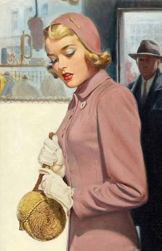 I think the IRS is following me; must have been when I tried to write those Louboutins off on my taxes.  Artist:Walter Martin Baumhofer