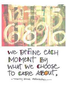 Each Moment Greeting Card by AppliedInsight on Etsy