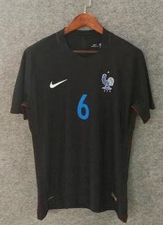6acceeb57 2018 Men France Jersey Away  6 Pogba Jersey World Cup Jersey Player