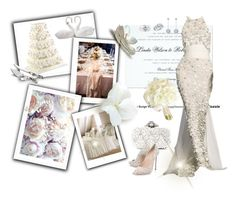 """""""Wedding Art & Doll Sets"""" by sarahguo ❤ liked on Polyvore featuring Casadei, Collette Z, Lladró and Michael Aram"""
