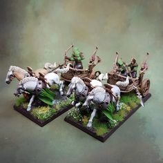 Warhammer Wood Elves Army