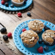 Whole wheat blueberry banana bread by adashofsass via flickr these triple berry whole wheat muffins are moist soft delicately sweet and melt forumfinder Gallery