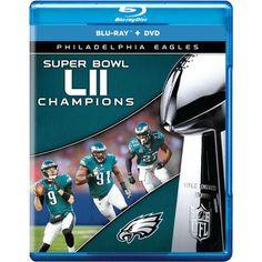 Philadelphia Eagles Super Bowl LII Champions DVD   Blu-Ray Set 4dadc2b03