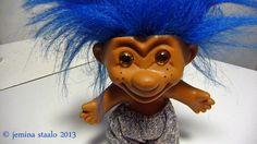 Totally Vintage!: Peikko numero 3 on sininen, toinen harmajapää Retro, Toys, Fictional Characters, Vintage, Art, Activity Toys, Art Background, Clearance Toys, Kunst