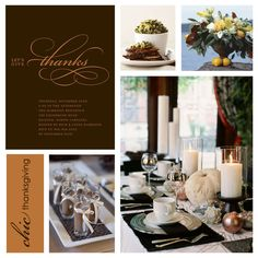 chic thanksgiving dinner party ideas