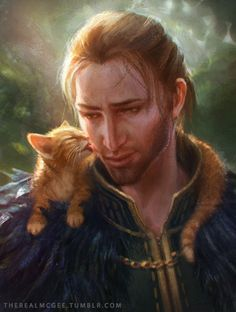 Anders and Ser Pounce-a-lot II