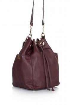 Hitt Bag Tumi Bucket Bag Bordo Çanta: Lidyana.com