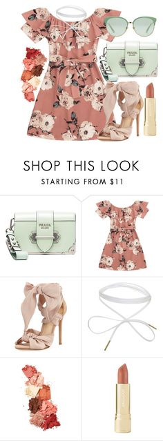 """""""Spring is Coming 🌸"""" by fionna-marshall-lee ❤ liked on Polyvore featuring Prada, Alexandre Birman, Lime Crime, Axiology and Gucci"""