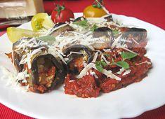 Храна за мойте канибали: Рулца от патладжани със сирена в доматен сос