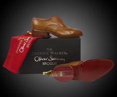 Johnnie Walker Mini Bottle Shoes | DudeIWantThat.com