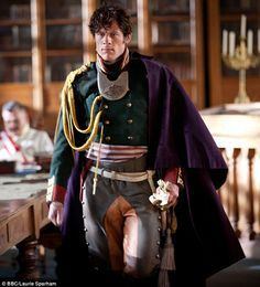 The actor's turn as the dashing Prince Andrei Bolkonsky in the BBC adaptation of War And Peace // New crush, James Norton in War and Peace James Norton, War And Peace Bbc, Andrew Davies, The Great Comet, Actor James, Romance, Bbc One, No One Loves Me, Classic Literature