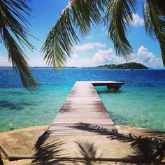 Le Maitai Hotel, Bora Bora... i took so many pictures from this dock.. its perfect :)