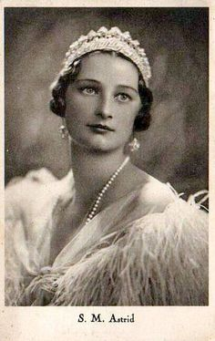 Königin Astrid von Belgien, Queen of Belgium.