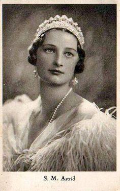 Königin Astrid von Belgien, Queen of Belgium.
