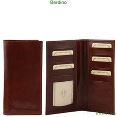 Prachtige leren portemonnee voor dames, gemaakt in Italië. Plantaardig gekleurd volgens traditionele Toscaanse traditie.Exclusieve Leren portemonnee. -