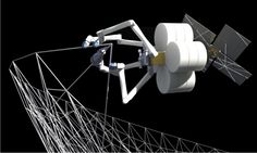 "NASA & TUI to develop ""self-fabricating"" spacecraft with robots and 3D printers"