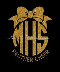 ORIGINAL DESIGN - Glitter monogram with bow on top, Mascot tee, cheer mom tshirt, cheerleader shirt, squad tees, team spirit shirt, by WalnutStreetHouse2 on Etsy https://www.etsy.com/listing/470371507/original-design-glitter-monogram-with