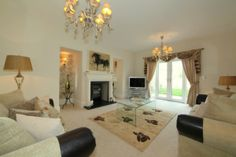 Luxury family home in Derbyshire