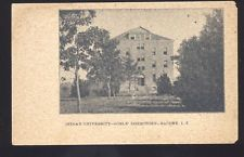 BACONE INDIAN TERRITORY OKLAHOMA INDIAN UNIVERSITY GIRLS DORM OLD POSTCARD