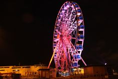 The Sky Wheel by irio. Amusement Park, Ferris Wheel, Fair Grounds, Sky, Landscape, Awesome, Travel, Heaven, Heavens