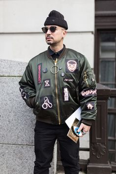 London Menswear Collections FW16 Streetstyle