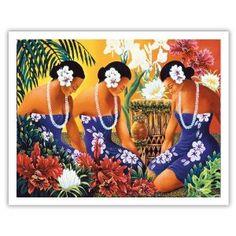 Silent Preparation by Warren Rapozo, Hawaiian artist