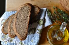 Today I have a very unique recipe to share. A gluten-free bread recipe that needs to be kneaded! It is made of whole grain flours and is...