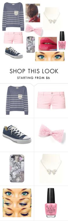 Untitled #87 by nutellas-babe on Polyvore featuring Band of Outsiders, Svea, Converse, Charlotte Russe and OPI