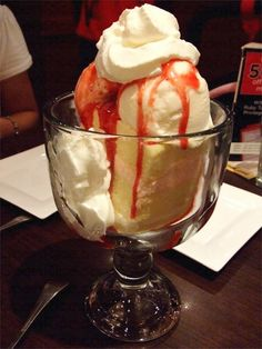 Ruby Tuesday Strawberry Tall Cake