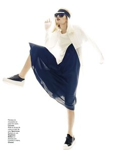 visual optimism; fashion editorials, shows, campaigns & more!: transparente, moi? : natallia krauchanka by terry gates for grazia france 14th march 2014