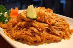 Thai Noodles & Peanut Sauce ~ #favorite recipe #comfort food