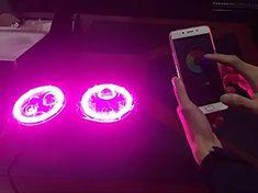 Cloudsale 7 inch led rgb round drl flashing angel eye halo ring headlamp bluetooth controlled for jeep wrangler: Amazon.in: Car & Motorbike Royal Enfield Accessories, Angel Eyes, Jeep Wrangler, Jeep Wranglers
