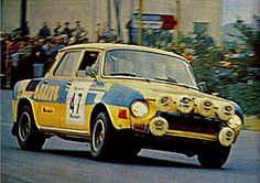 Blahna / Hlavka - Skoda 120S Sport Cars, Race Cars, Rally Car, Old Cars, Cars And Motorcycles, Rock And Roll, Automobile, Racing, Retro