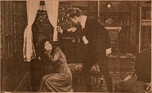 Still from the 1910 silent film Jane Eyre. The film is lost.