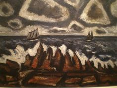 Marsden Hartley 'Northern Seascape'