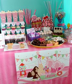 Wants and Wishes: Party planning: Wreck it Ralph Birthday part 2.... Sugar Rush party