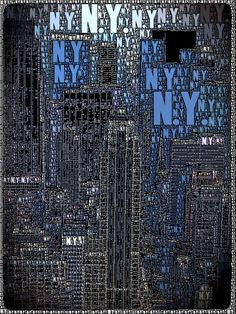 New York -  Skyline - iPhoneography.  Rent-Direct.com - Rent an Apartment in NY with No Broker Fee.