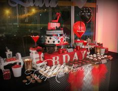 """pin up / Birthday """"40th Birthday party! Pin-up Girls!"""" 
